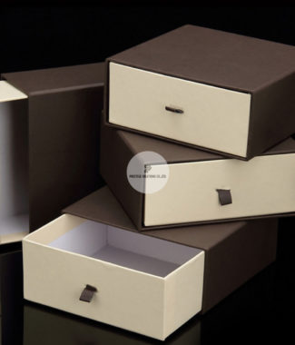 handmade drawer paper box for stationary , wedding and office
