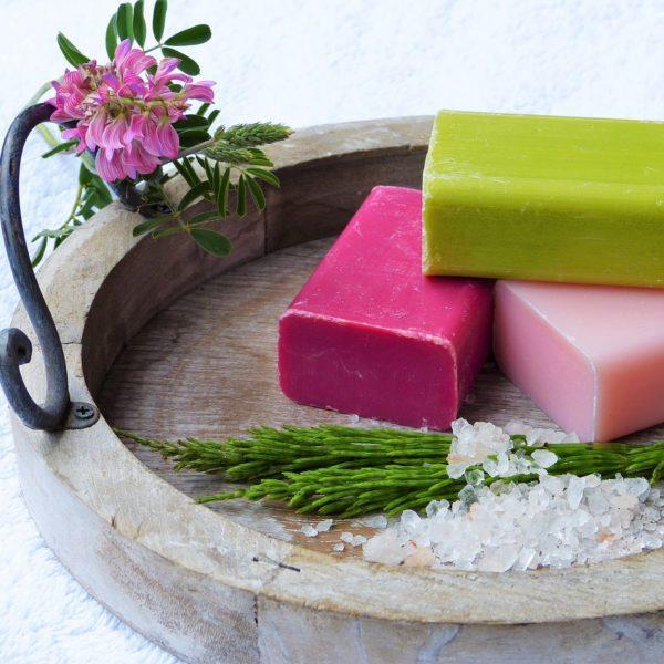 Handmade soap from Thailand