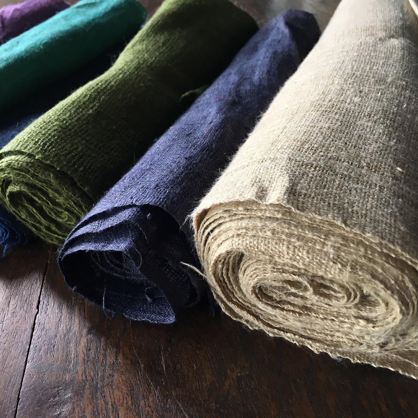 Hemp Fabric Wholesale Export 100 Hemp From Chiang Mai Thailand