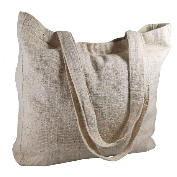 Hemp shopping tote bag
