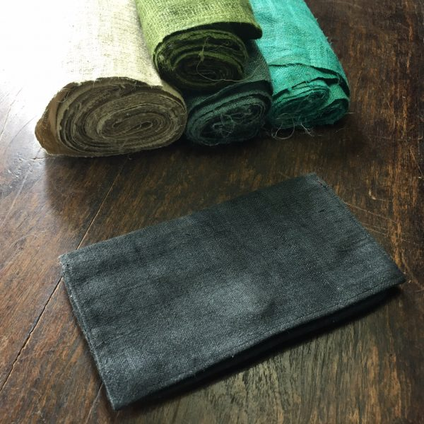 hemp wallet for money and coins