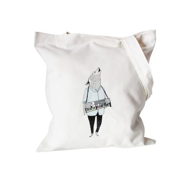 Personalized cotton shopping bag