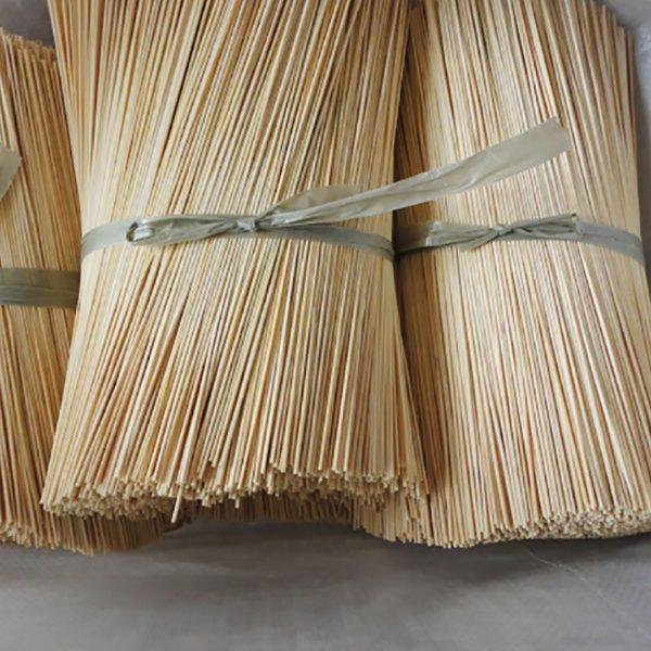 raw bamboo fiber