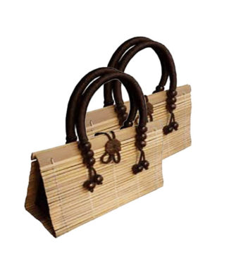 Thai Bamboo Handbag