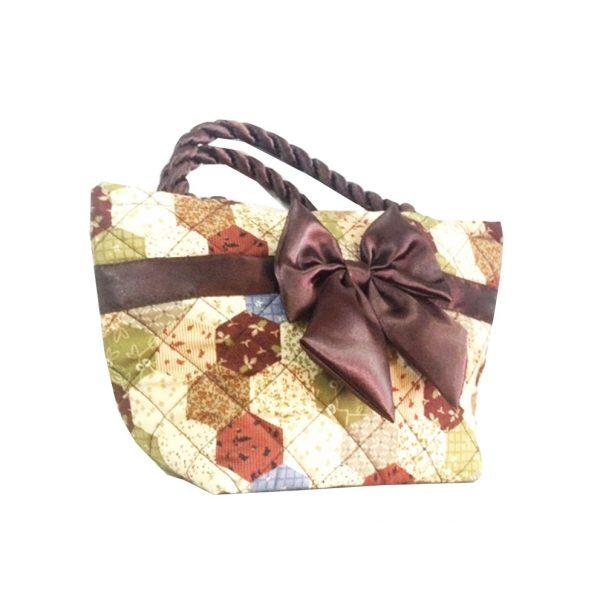 Thai quilted cotton handbag