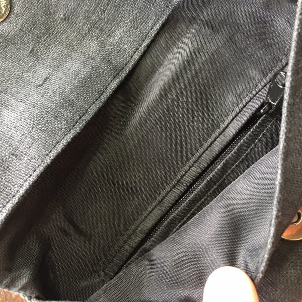 zippered hemp bags from Thailand for wholesale