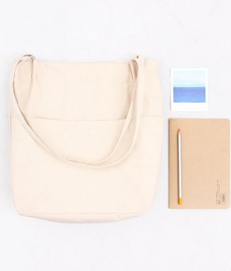 practical canvas tote bag