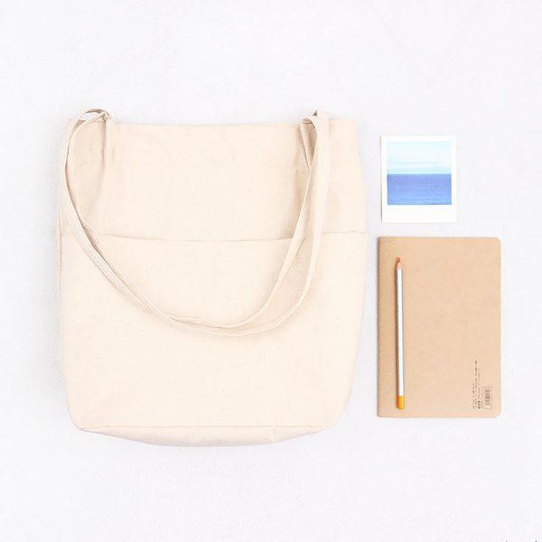 practical canvas tote bag