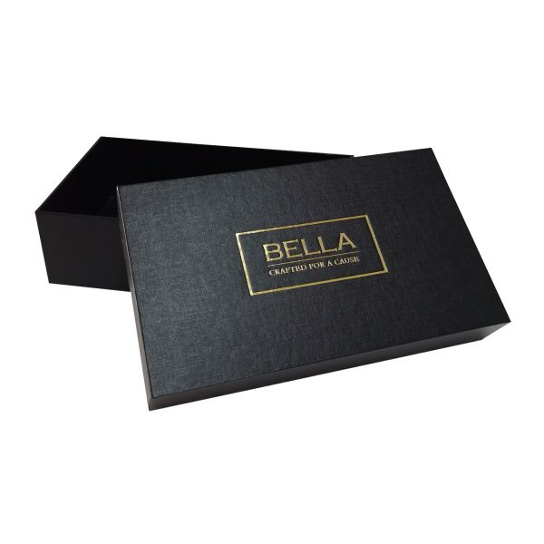 Gold foil stamped packaging box