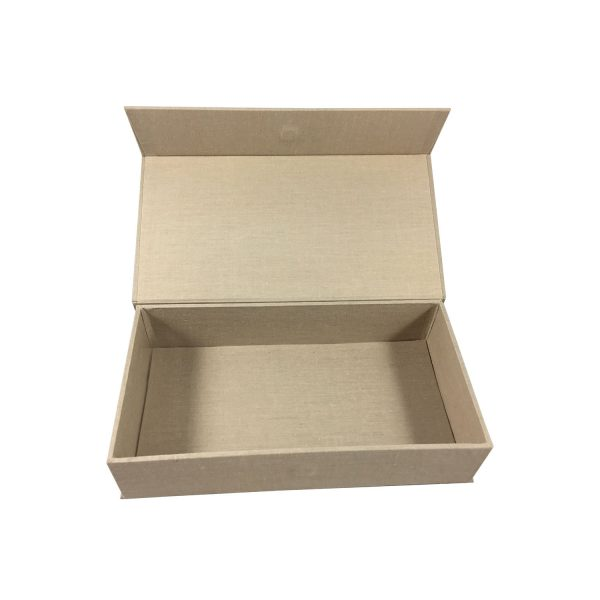 magnetic lid cotton box