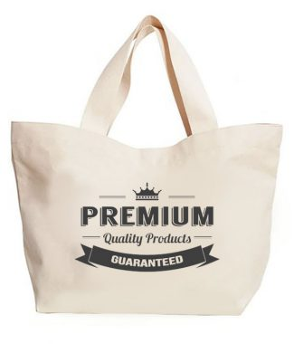 Promotional Canvas Cotton Eco Shopping Bags