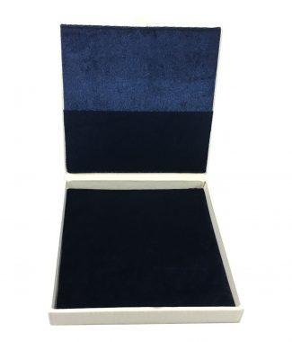 ivory linen box