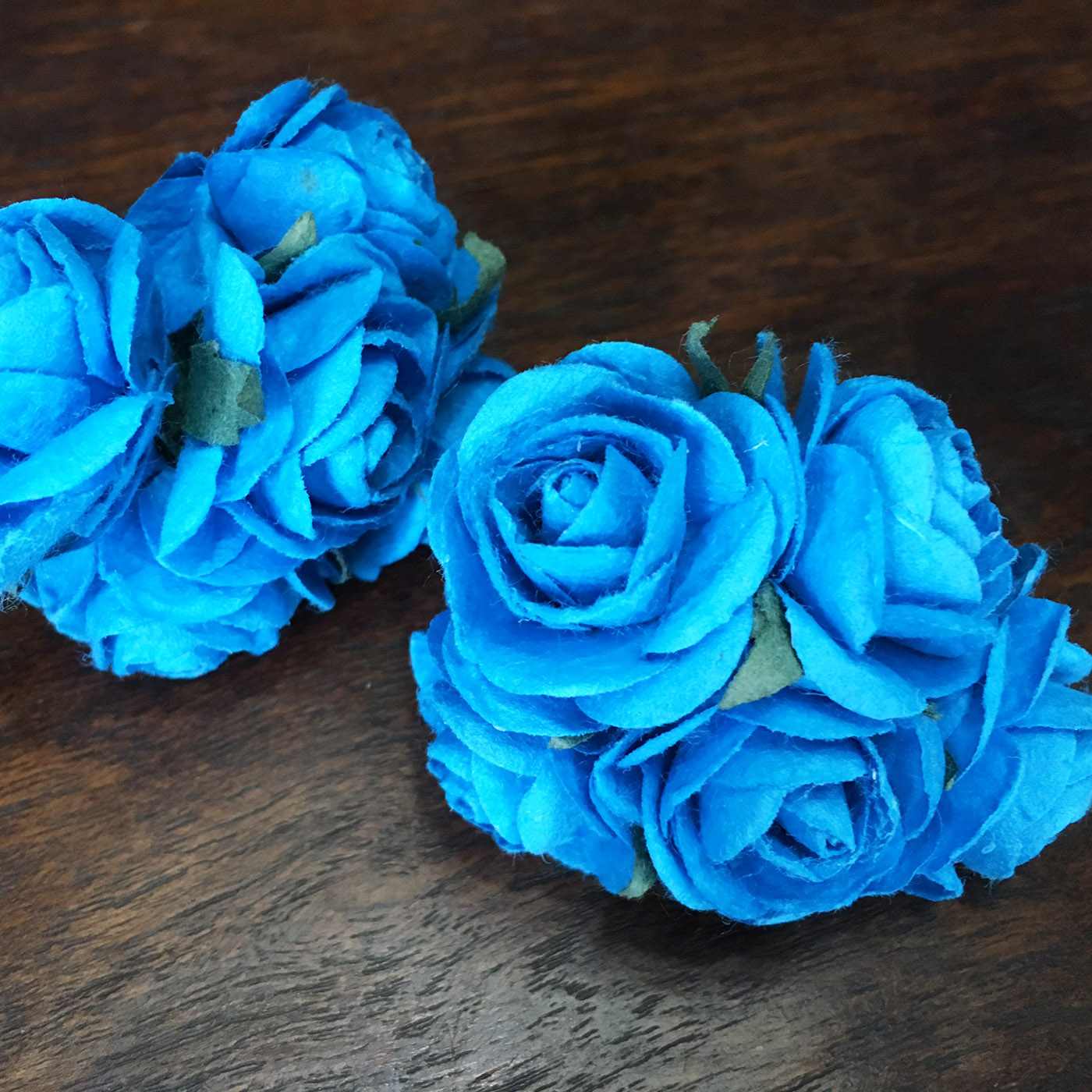 Decorative Handmade Mulberry Paper Flowers For Embellishment