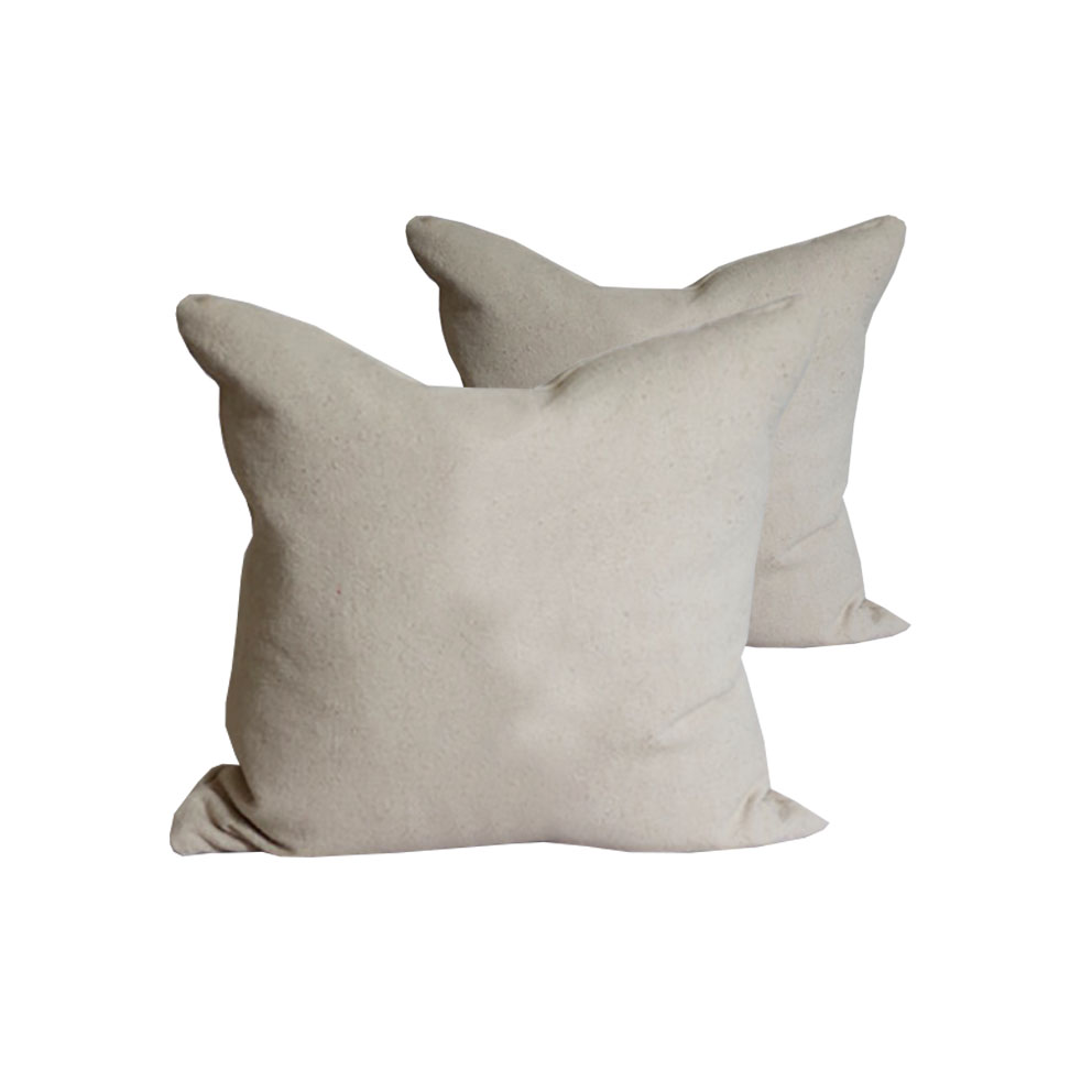 16 Inches Square Hemp Pillow Cover