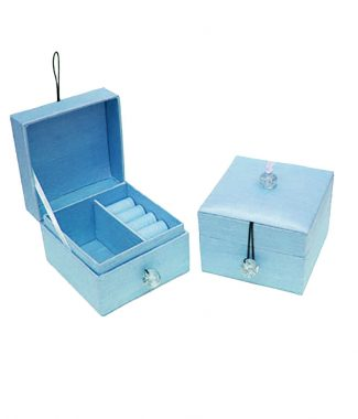 silk jewellery box