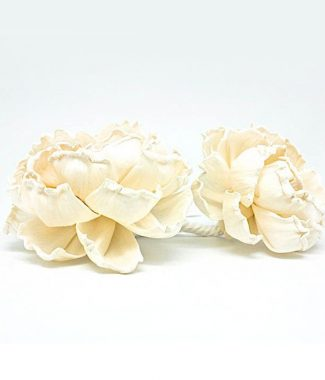 ivory paper wedding flowers