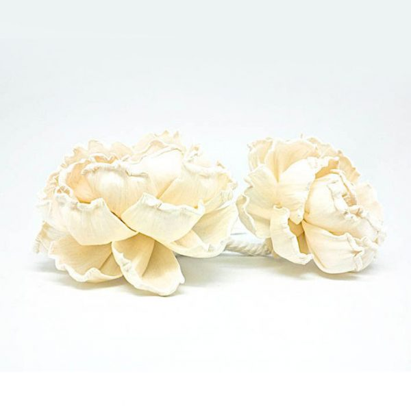 ivory paper wedding flowers