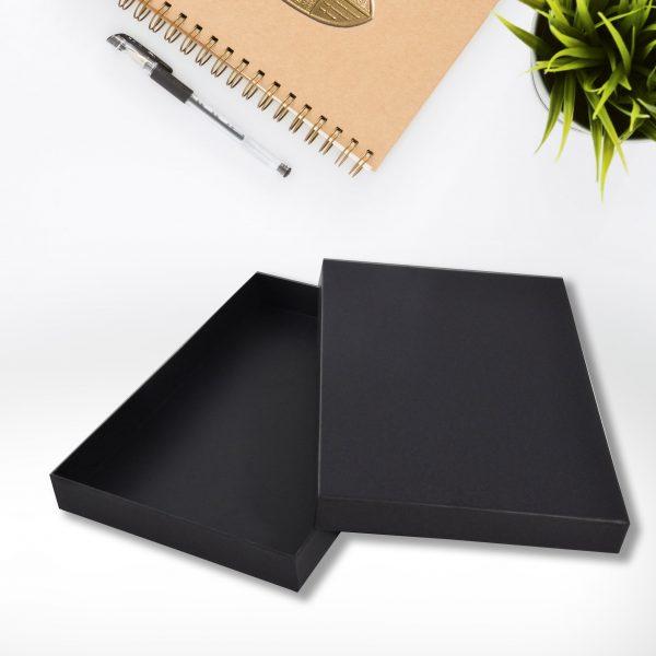 luxury black packaging box