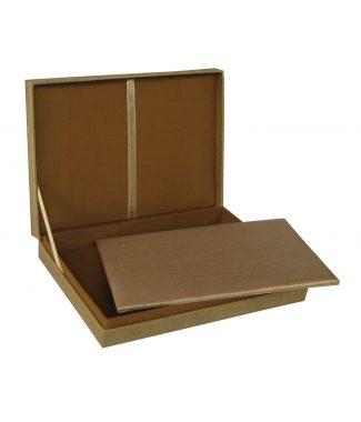 Luxury silk wedding boxes