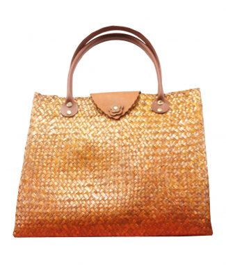 Bamboo shoulder bag sold wholesale from Thailand
