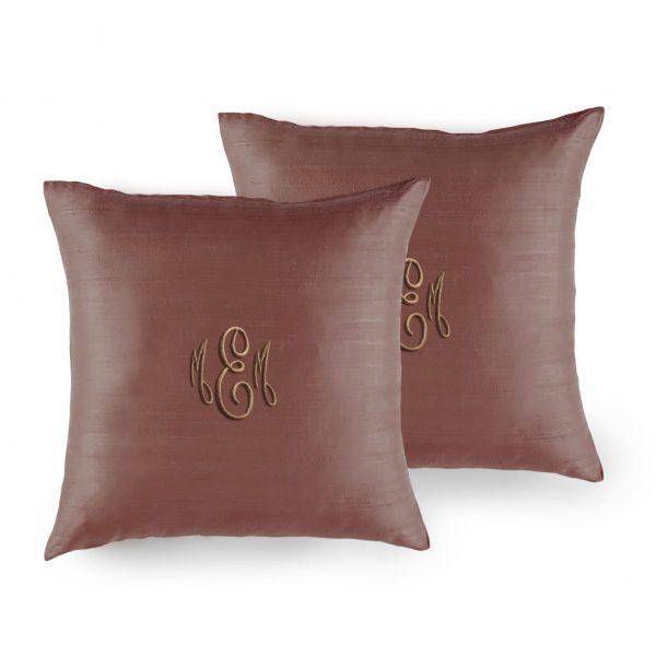 18 x 18 inches Thai silk cushion