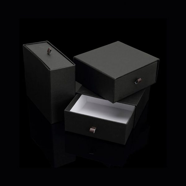 Black paper drawer box