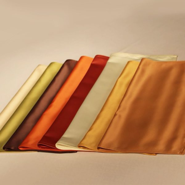 taffeta silk napkins for table decor