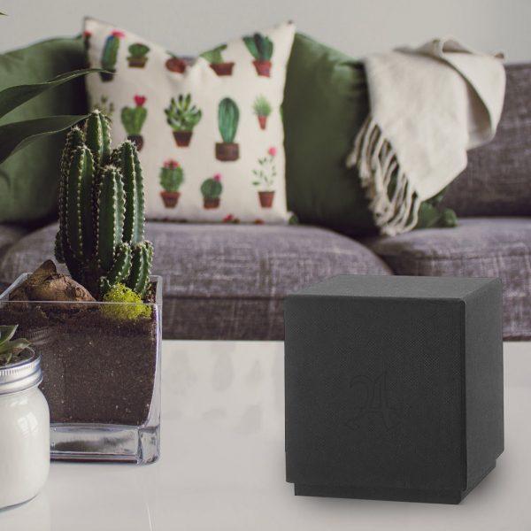 Luxury blind debossed black box