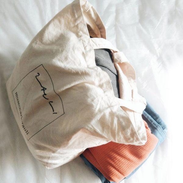 Cotton eco shoulder bag