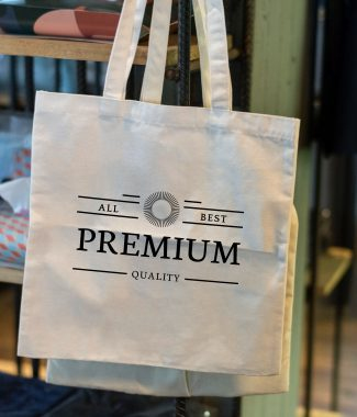 Personalised cotton tote bags