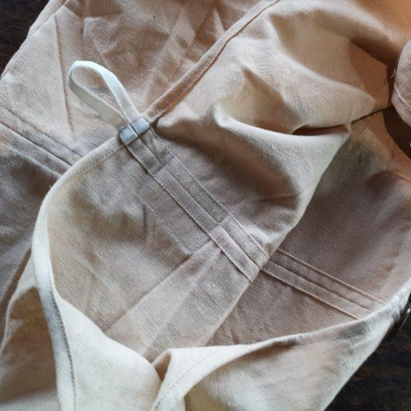 interior of Thai monk bag
