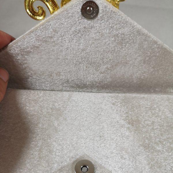 luxury velvet envelope
