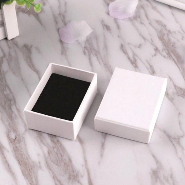 Small plain paper box