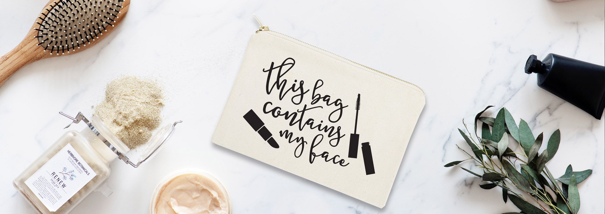 Customized cosmetic bags