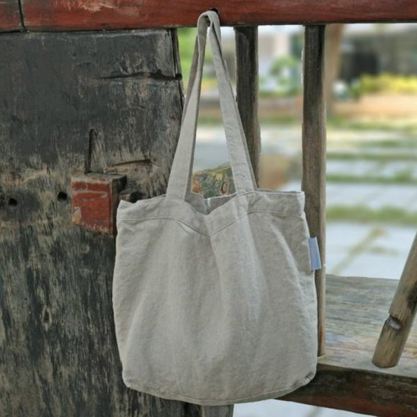 durable linen tote bag sold wholesale