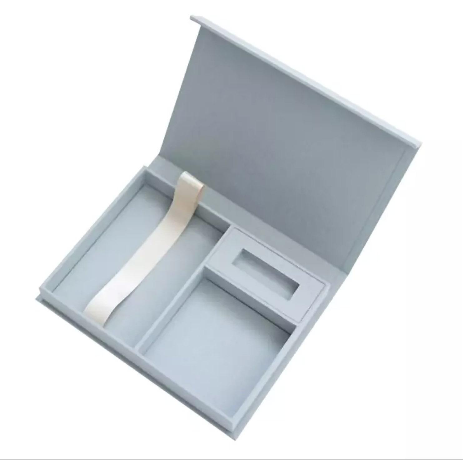 Linen USB box
