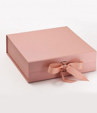 Wholesale Rosegold bridesmaid gift boxes