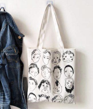 Reusable shoulder bag