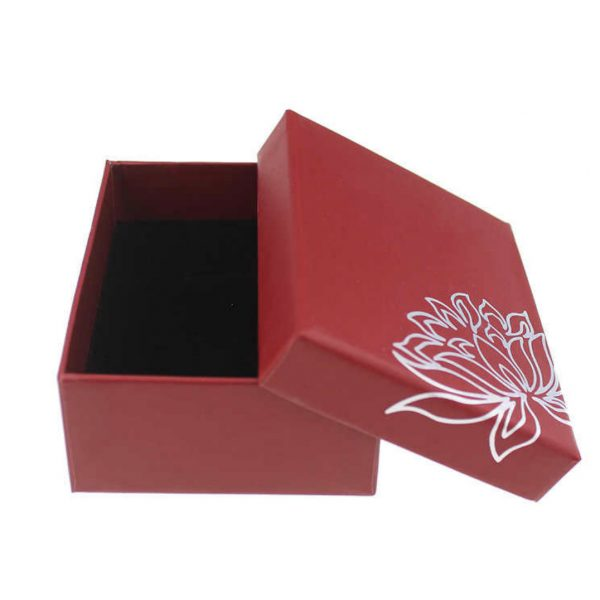Red packaging box