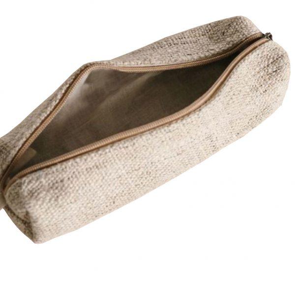 zippered hemp case