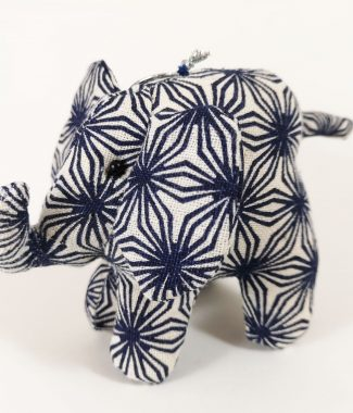 Printed cotton elephant