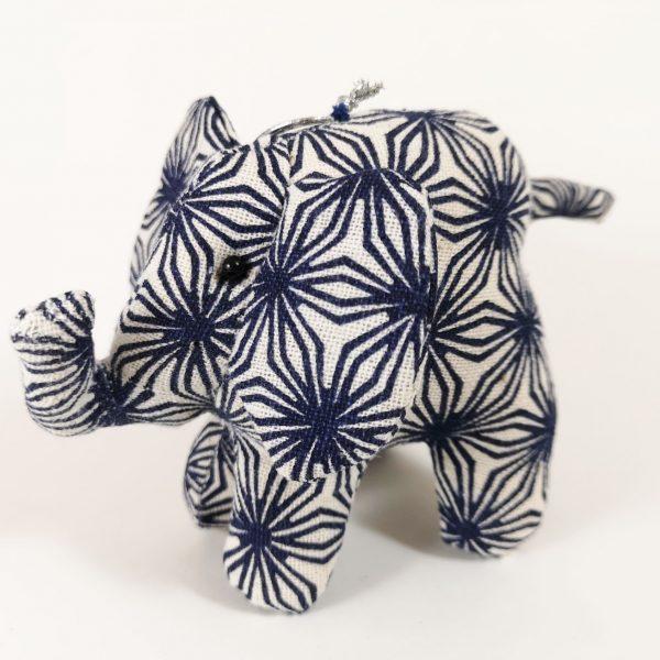 Printed cotton elephant