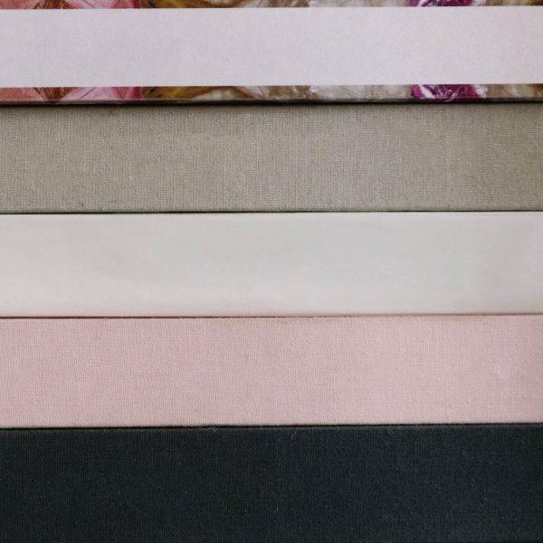 Close up linen box