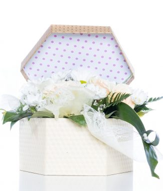 Customized Design Paper Gift Packaging Box with 6 Corners