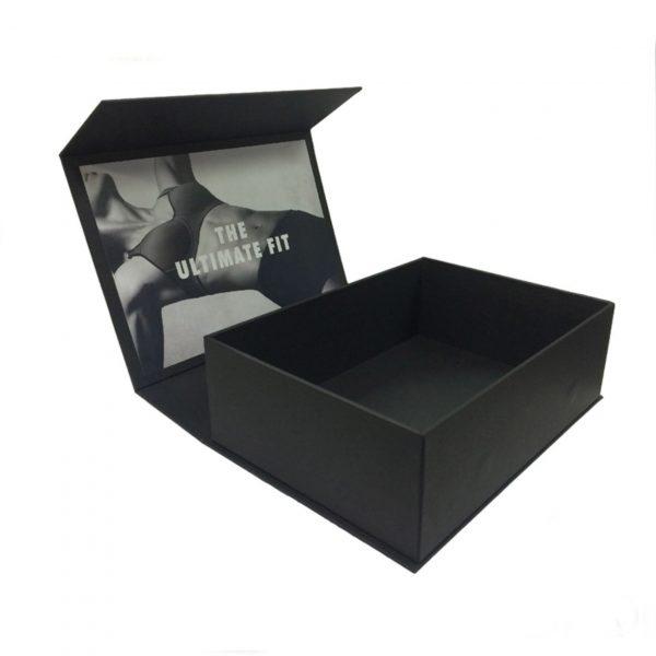Luxury black printed gift box