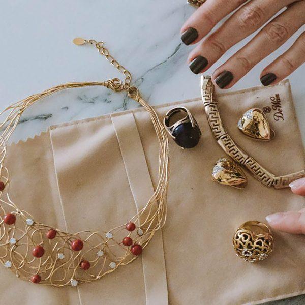 luxury jewelry bags
